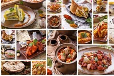 types of Indian food