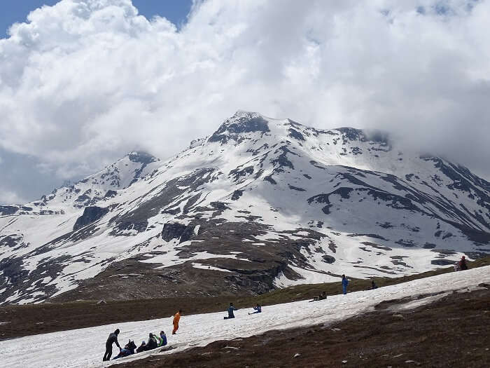 Rohtang pass view
