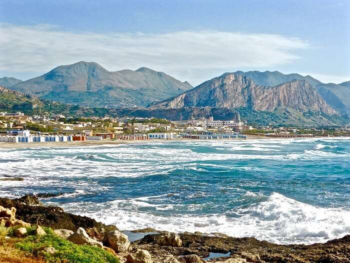 A view of Sicily landscape