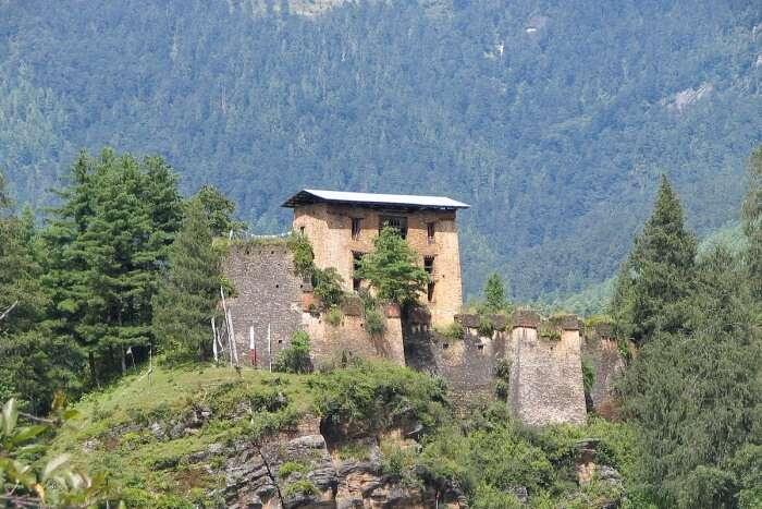 Dapham Dzong Ruins