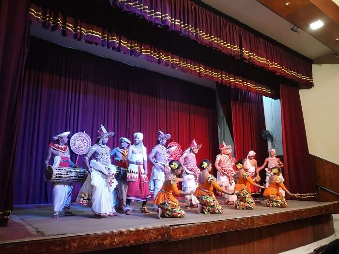 enjoyed the Kandyan Cultural show
