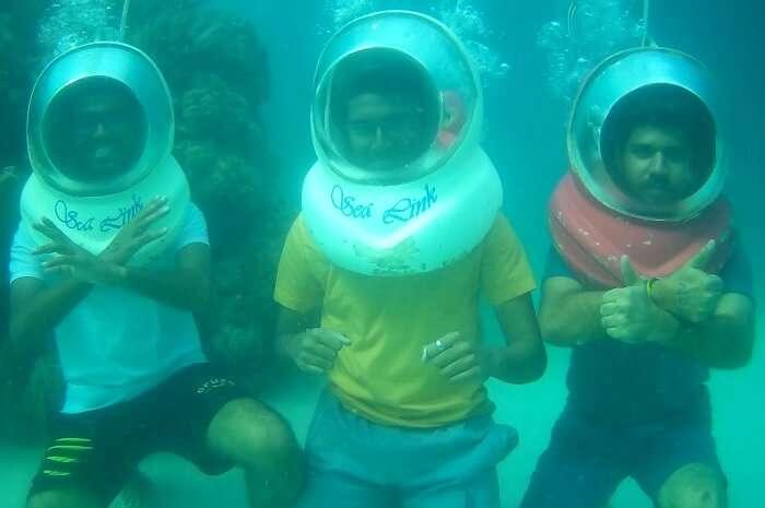 marine life was spellbinding