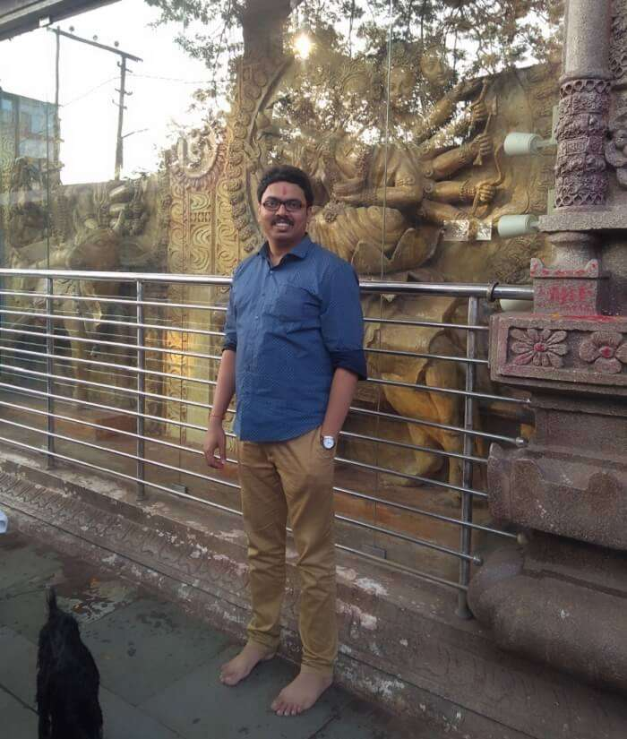 went to Maa Kamakhya Temple