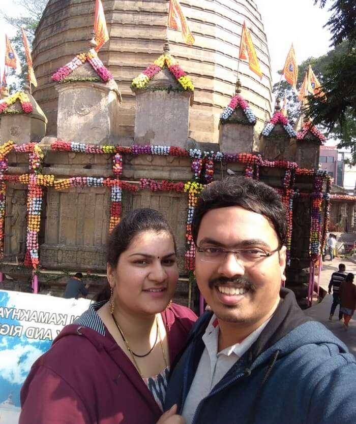 seek blessings at temple