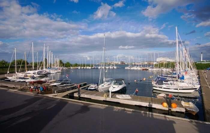 The Langelinie Marina
