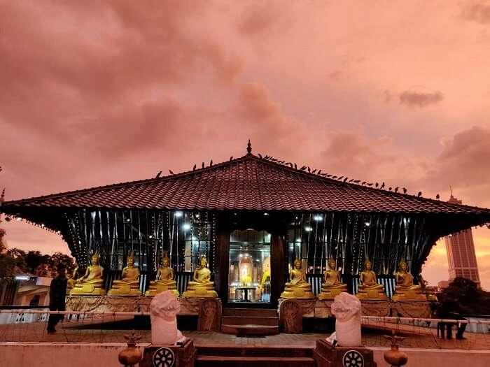 Gangarama Templ