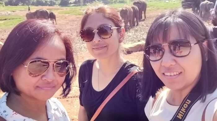 capture the moments spent with elephants