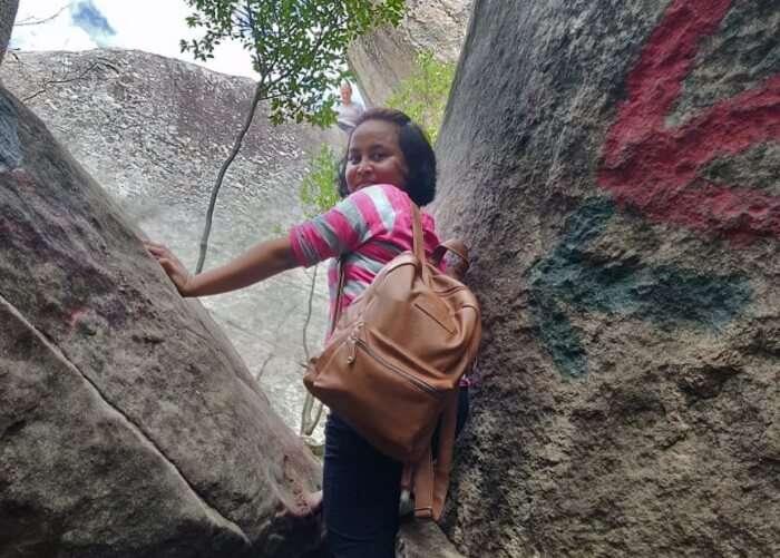 climbed the Pidurangala rock