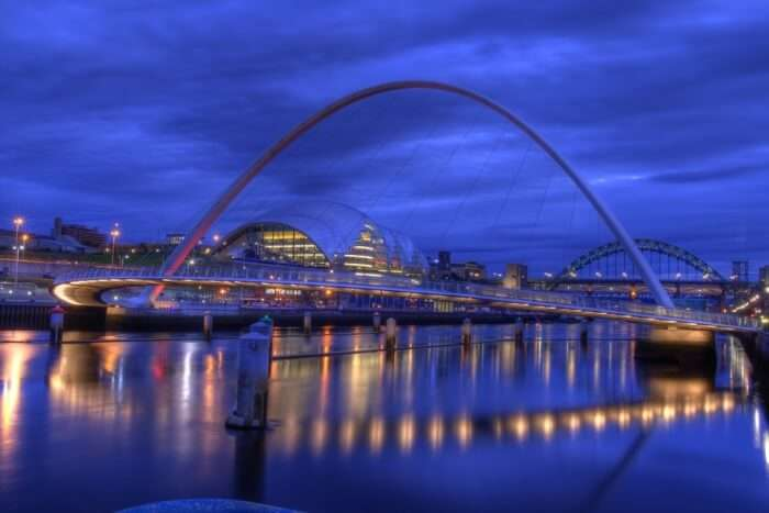 About Gateshead Millennium Bridge