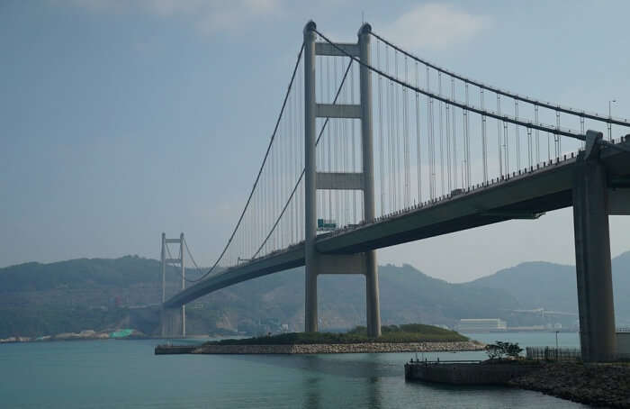 About The Tsing Ma Bridge