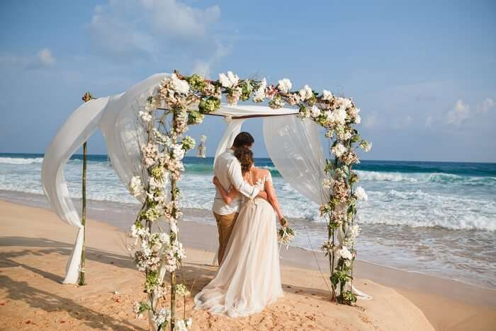 Beach Wedding in Fiji