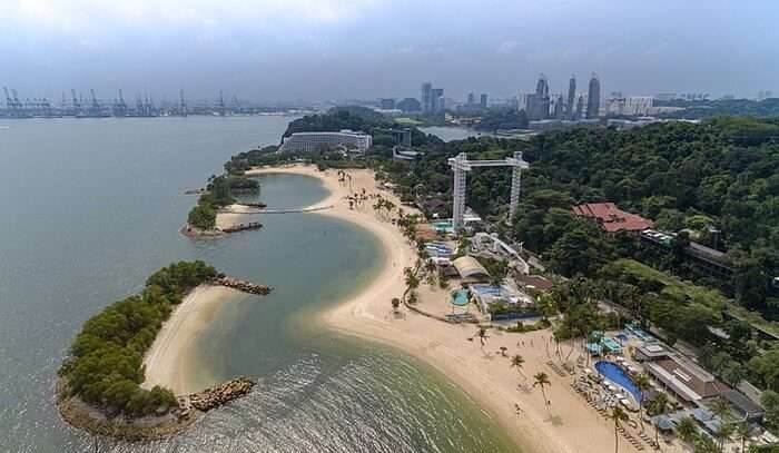 Beaches Of Sentosa