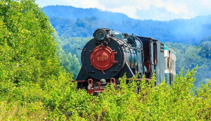Borneo Railway in Malaysia