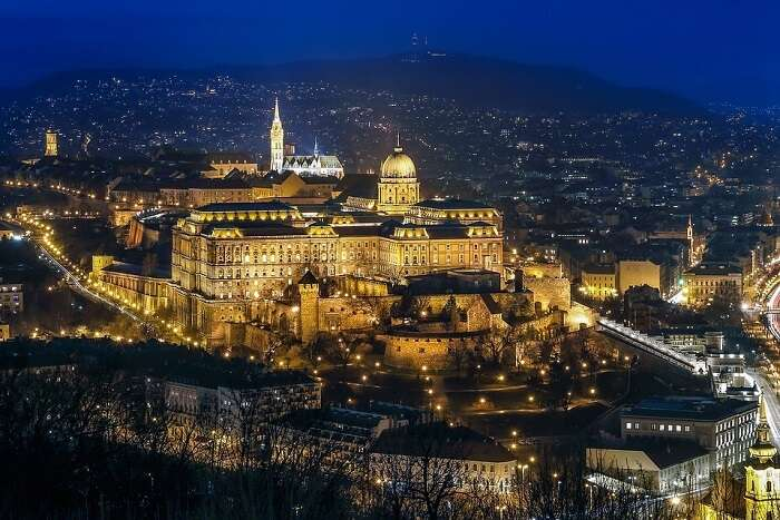 budapest view at night
