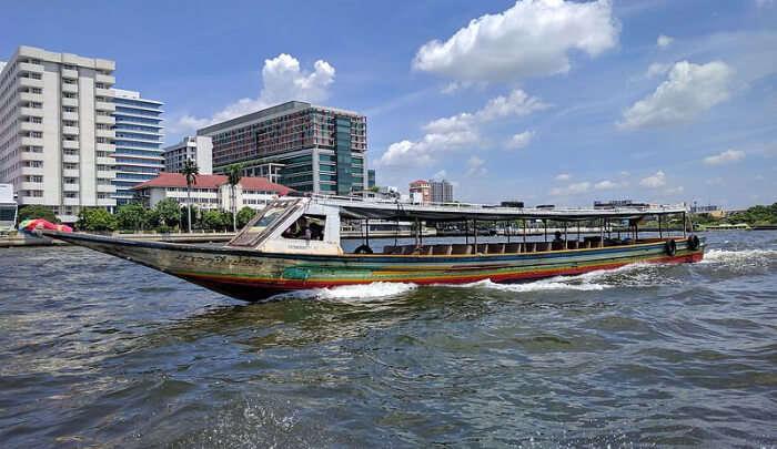 Chao Phraya in Bangkok