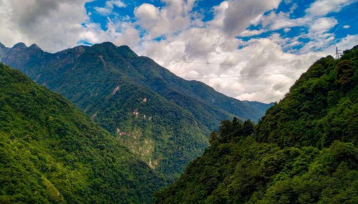 Chungthang near Gangtok