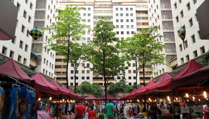 Connaught Market, KL