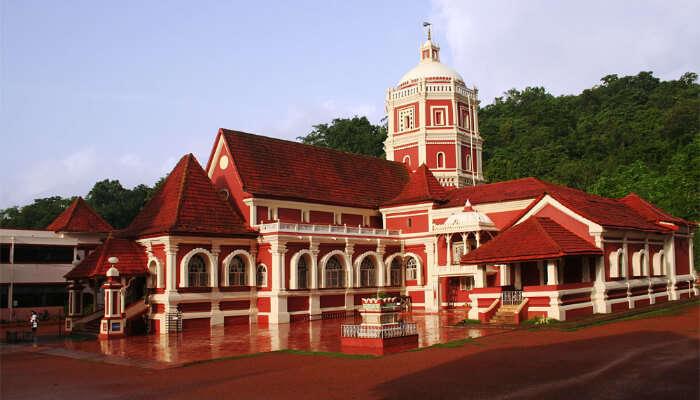 Goa temple