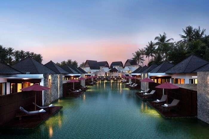 water villa property