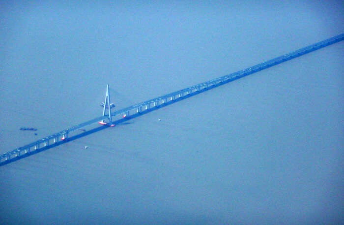 Appearance Of Hangzhou Bay Bridge