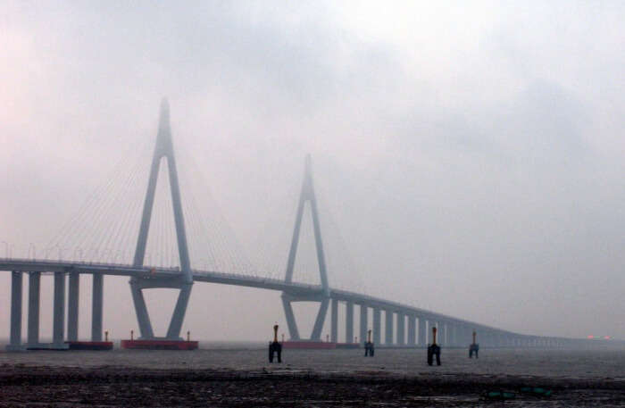 Hangzhou Bay Bridge Vacationing Platform