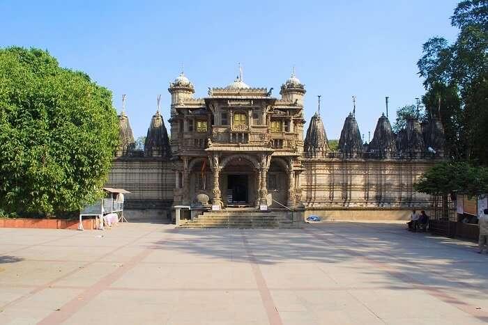 Hathisingh Jain Temple in Ahmedabad