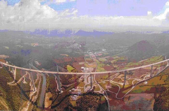 History Millau Viaduct Bridge