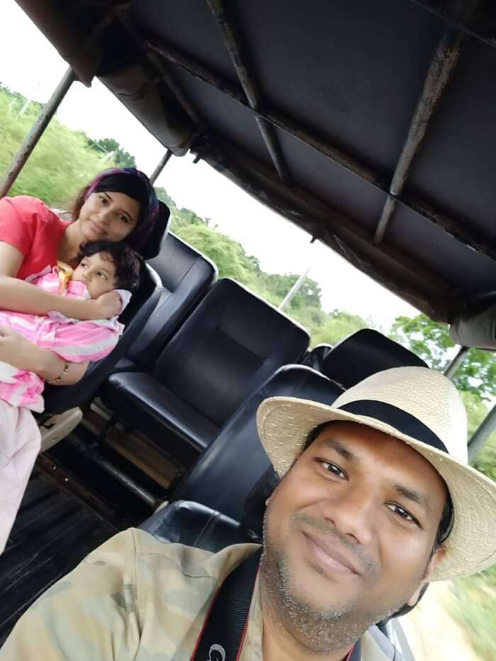 enjoyed the safari ride