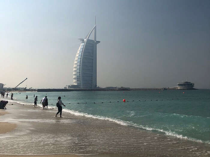 click the view of Burj al Arab