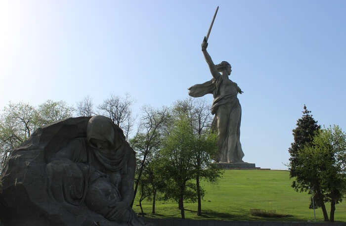 Volgograd Sights Mother Motherland Monument