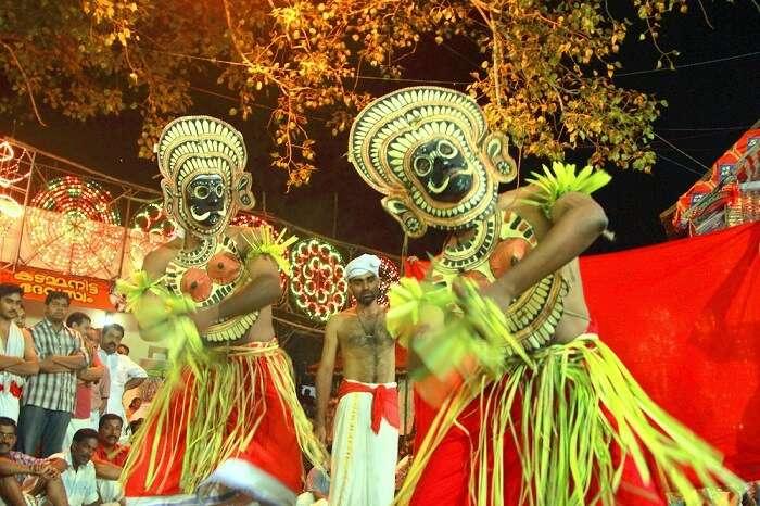 Kadammanitta Padayani festival in Kerala