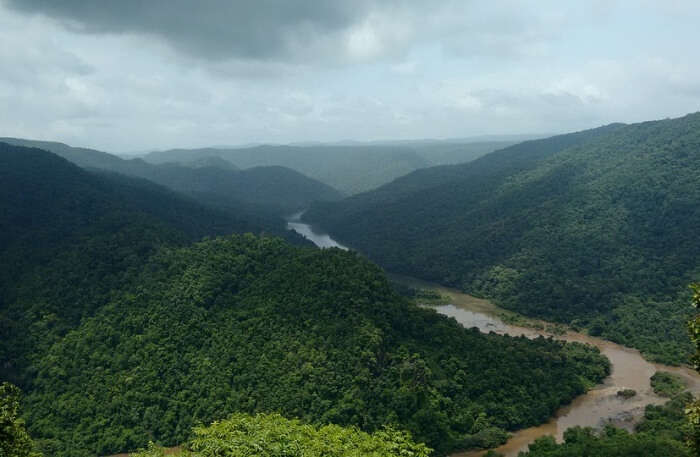 Kali River in Karnataka
