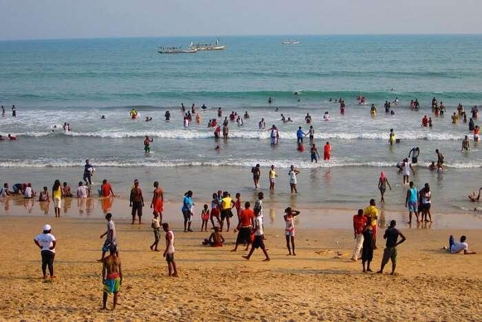 Kokrobite Beach