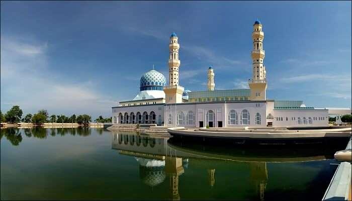 Kota Kinabalu City Mosque in Sabah, Malaysia