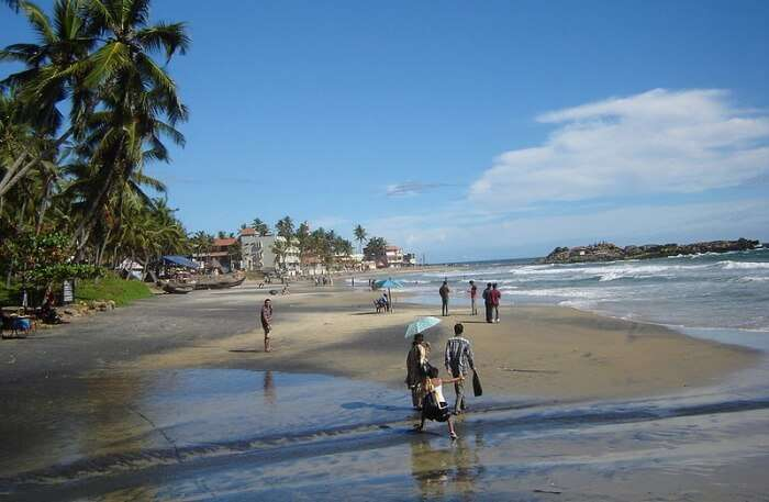 Kovalam Beach View