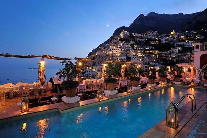 famous hotel in Southern Italy