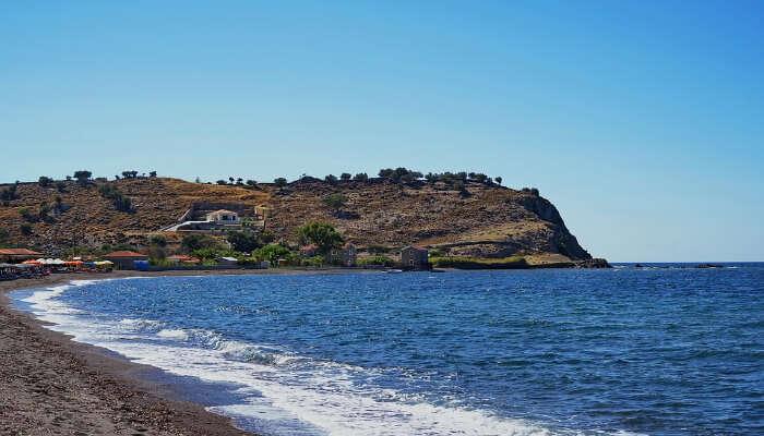 A stunning island in Greece