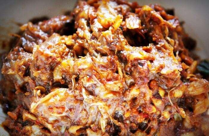 Thai Cuisine Spicy Chili Paste Chili