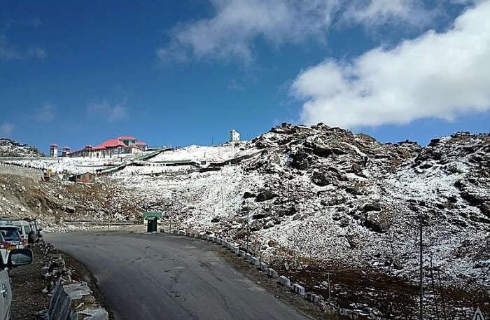 Nathula Pass View