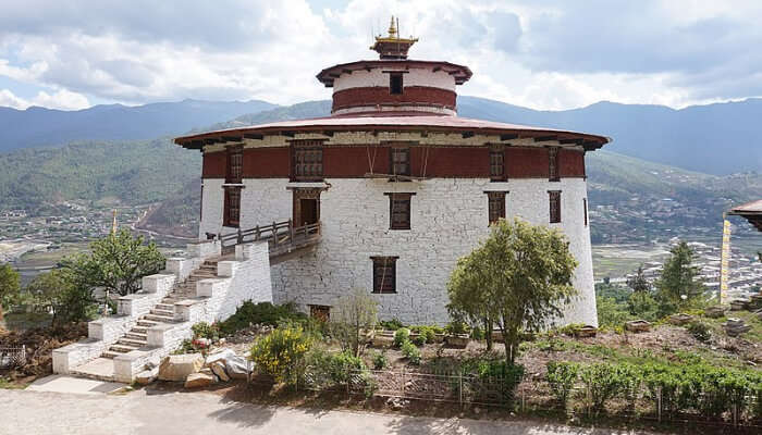 View of National Museum of Bhutan