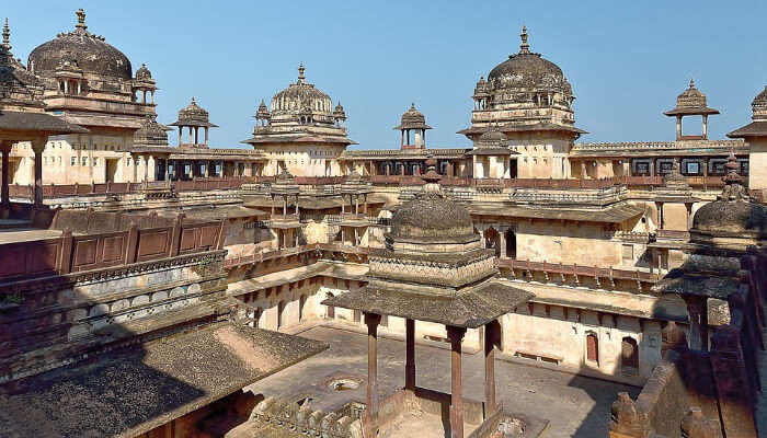 Orchha Fort Complex, MP, India