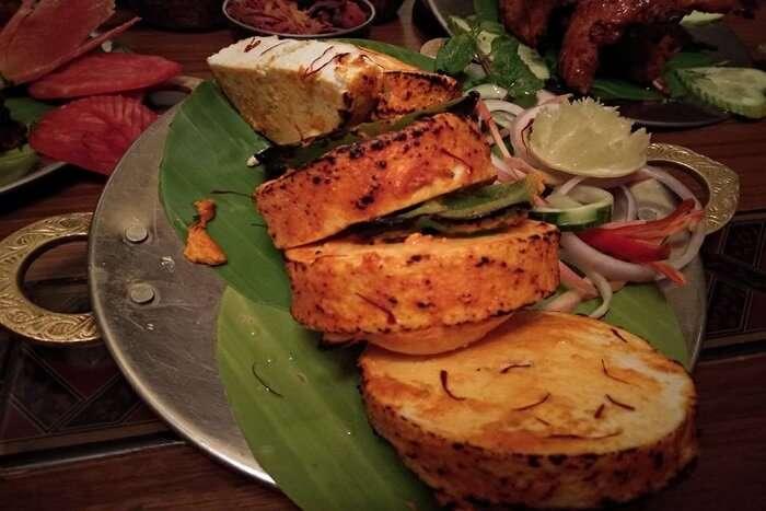 special food in restaurant