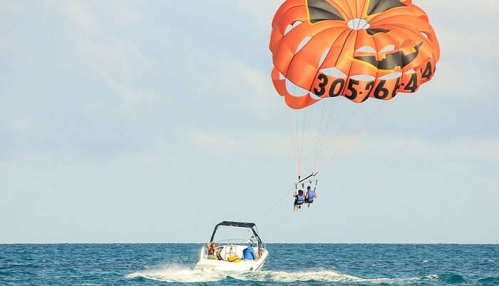 Parasailing In Maldives 2/11/19