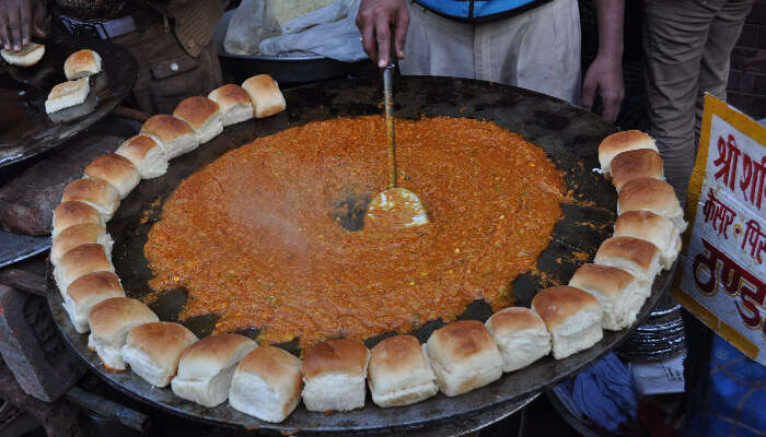 Pav Bhaji - Street Food