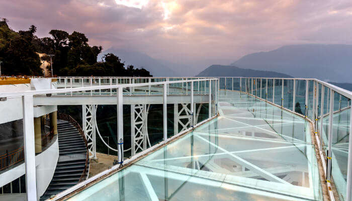 Skywalk in Pelling