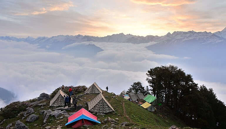 Riverside Camping In Manali 26/10/19