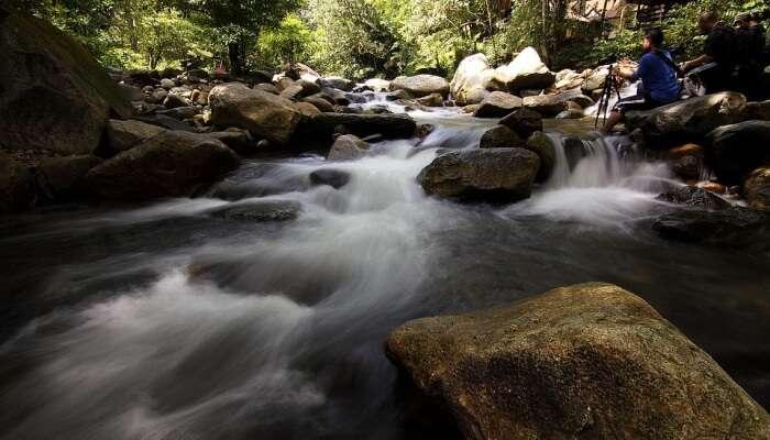 Sekayu Waterfall in Malaysia