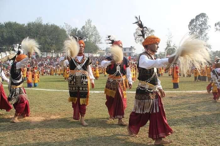 Shad Suk Mynsiem festival in Meghalaya