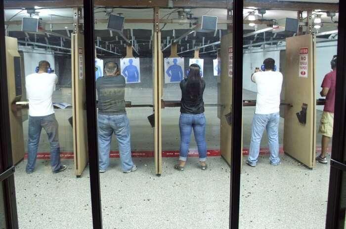 Shooting Range In Sofia