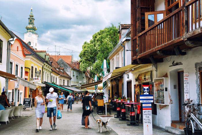 Shopping In Croatia cover